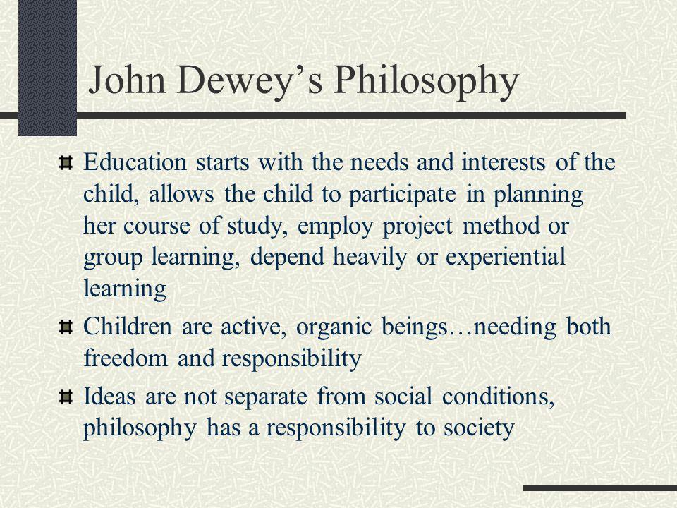 John Dewey's Philosophy