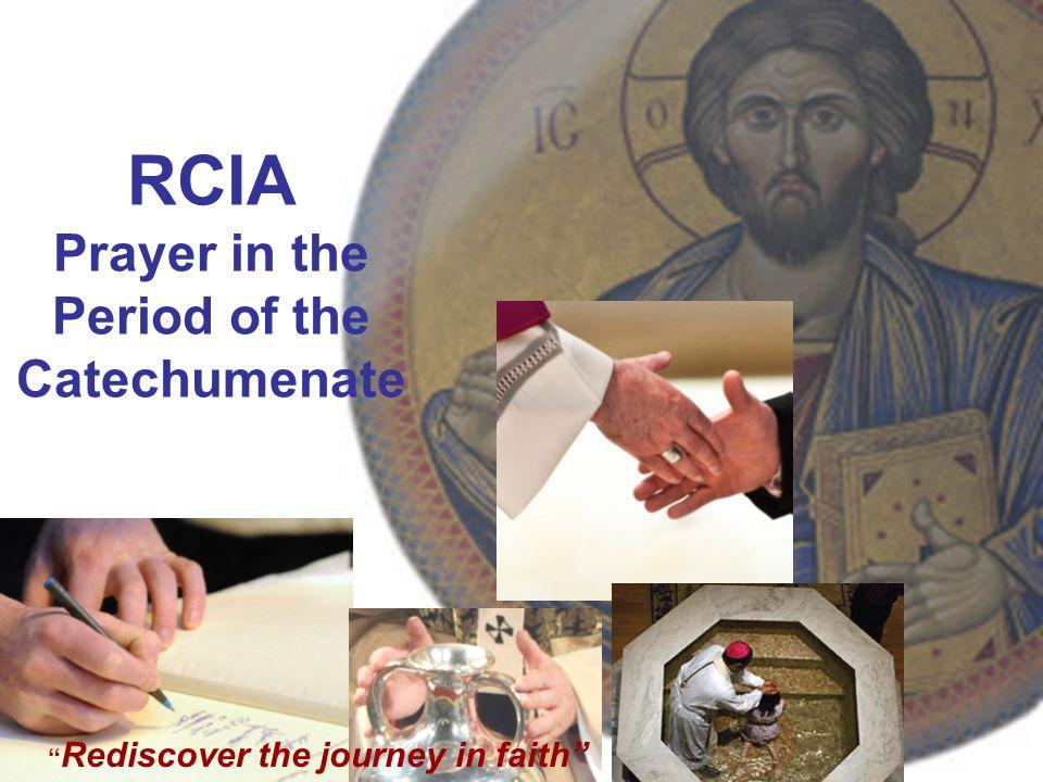 RCIA Prayer in the Period of the Catechumenate