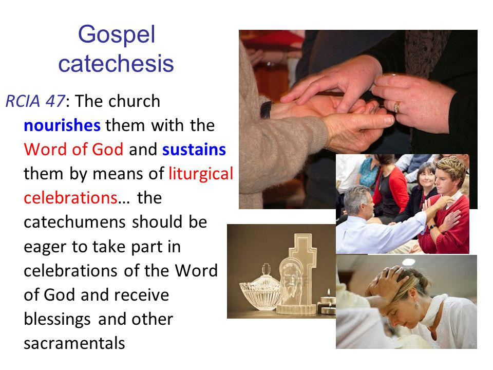 Gospel catechesis