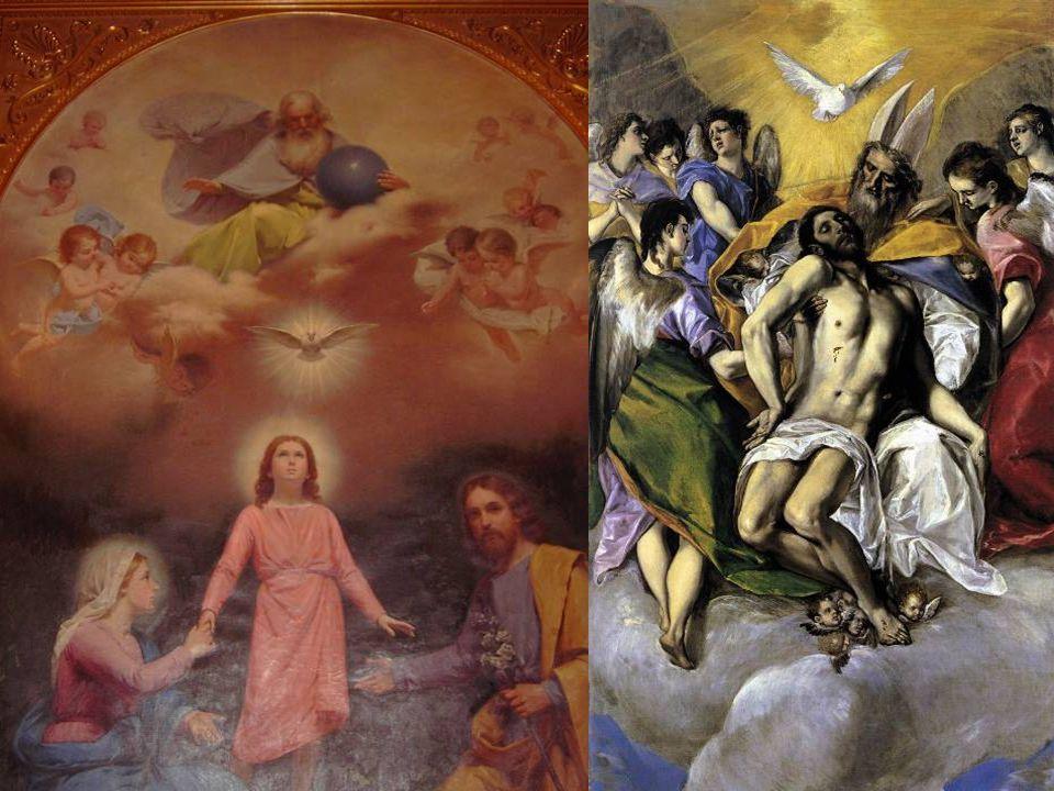 Trinity from Mission Santa Clara & by El Greco