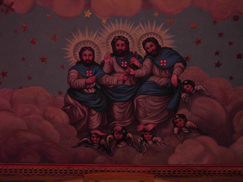 Trinity from Mission Santa Clara