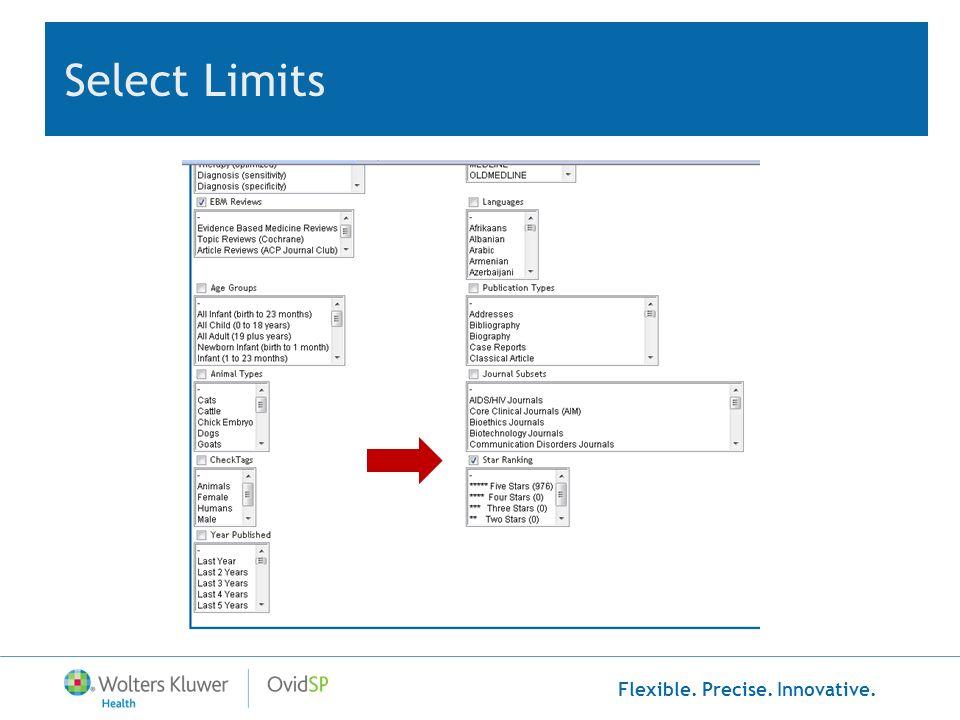 Select Limits