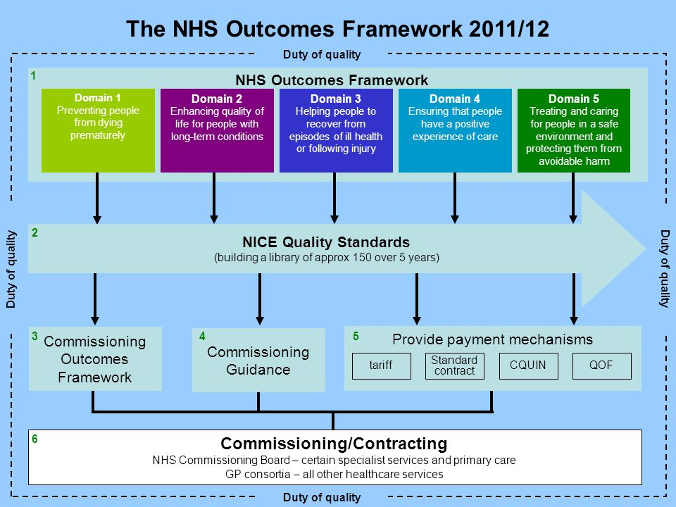 The NHS Outcomes Framework 2011/12
