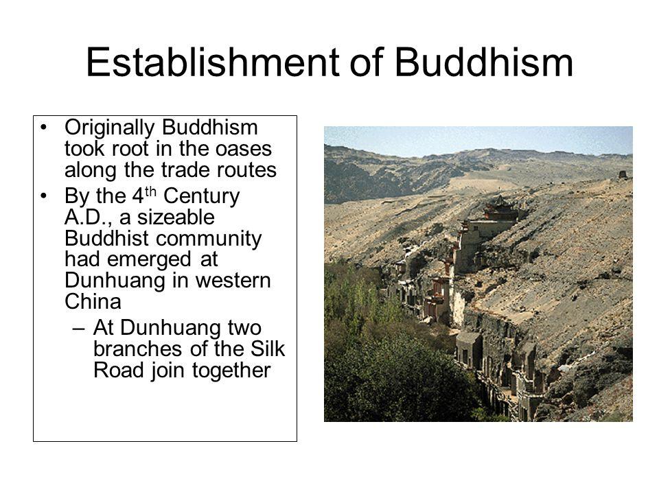 Establishment of Buddhism