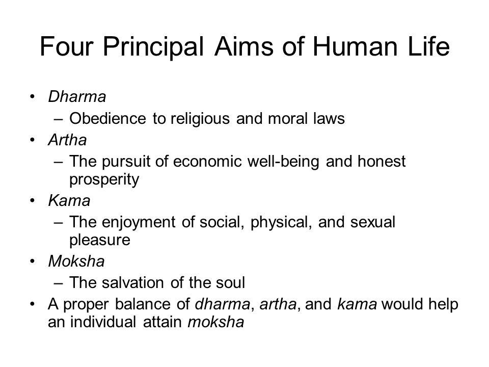 Four Principal Aims of Human Life