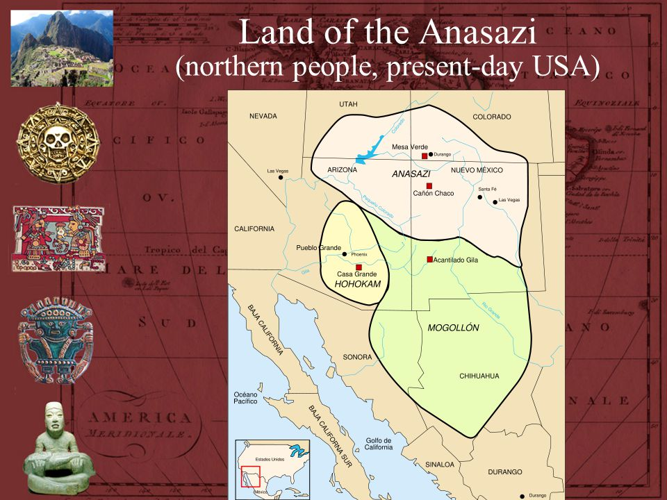 Land of the Anasazi (northern people, present-day USA)