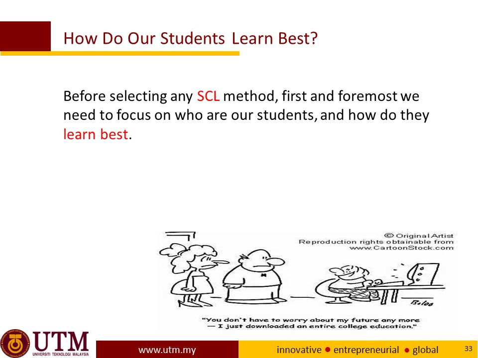 How Do Our Students Learn Best