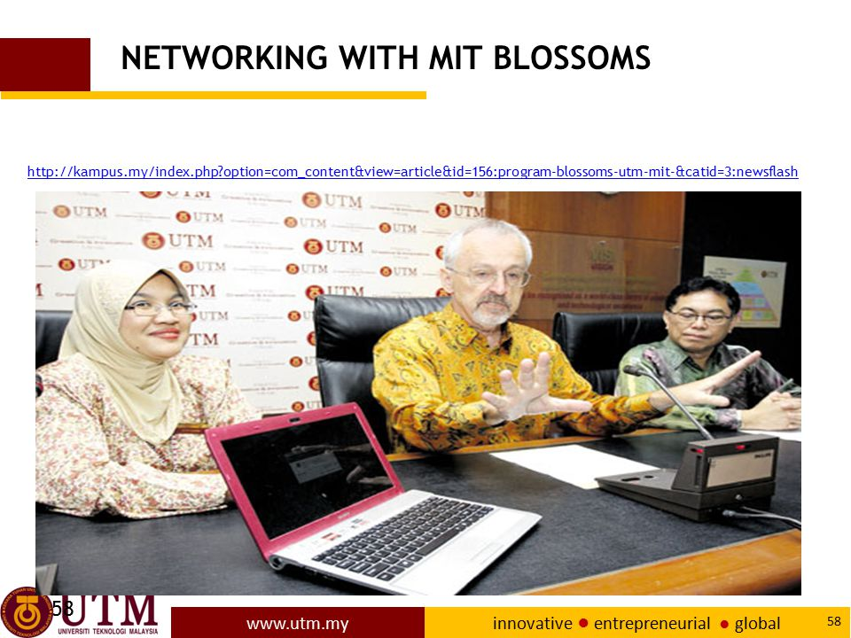 NETWORKING WITH MIT BLOSSOMS