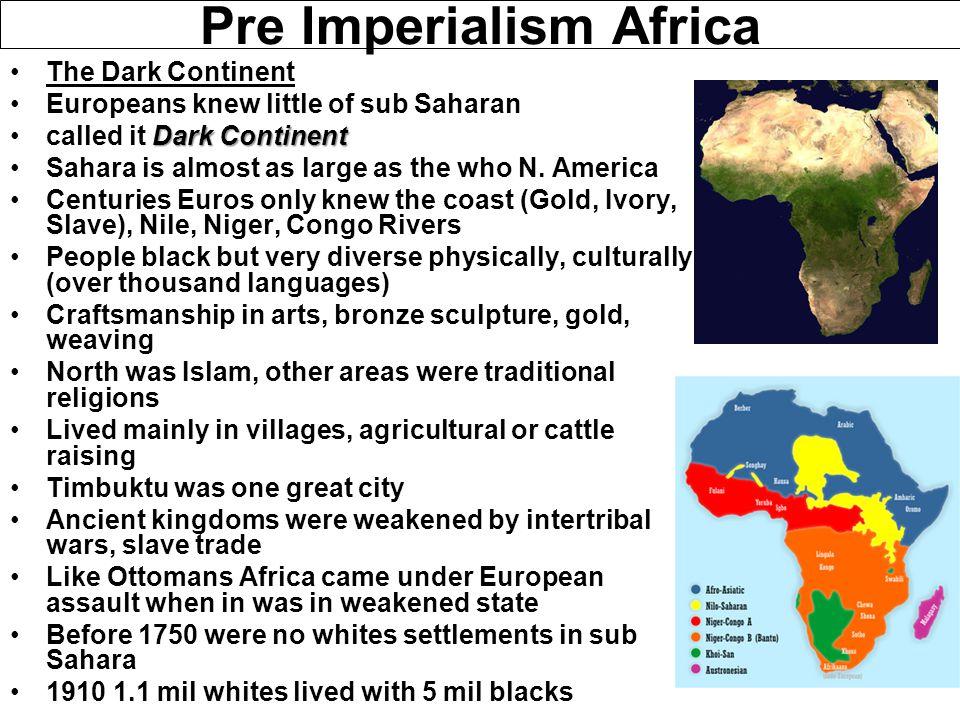 Pre Imperialism Africa