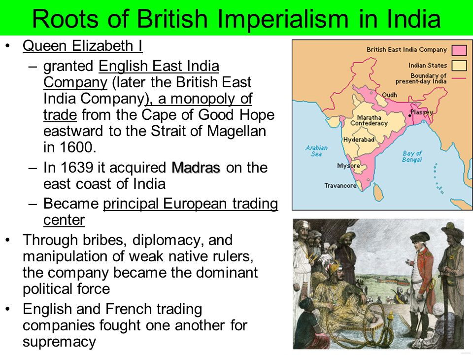 Roots of British Imperialism in India