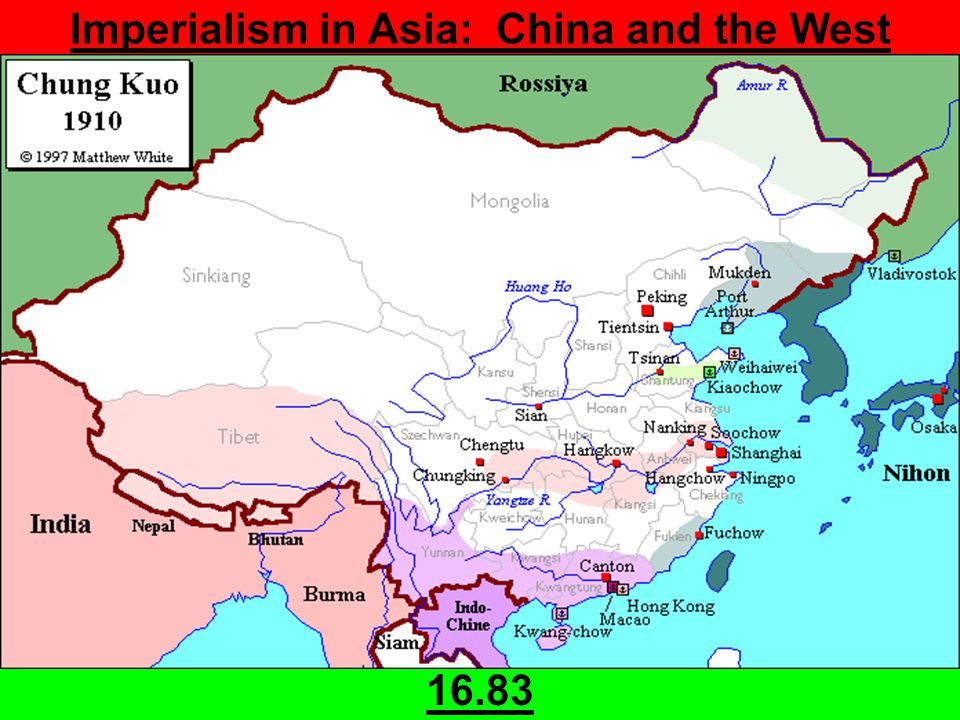 Imperialism in Asia: China and the West