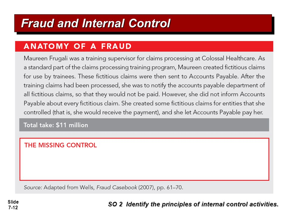 Fraud Prevention and Detection - Pre-Emptive Fraud Auditing
