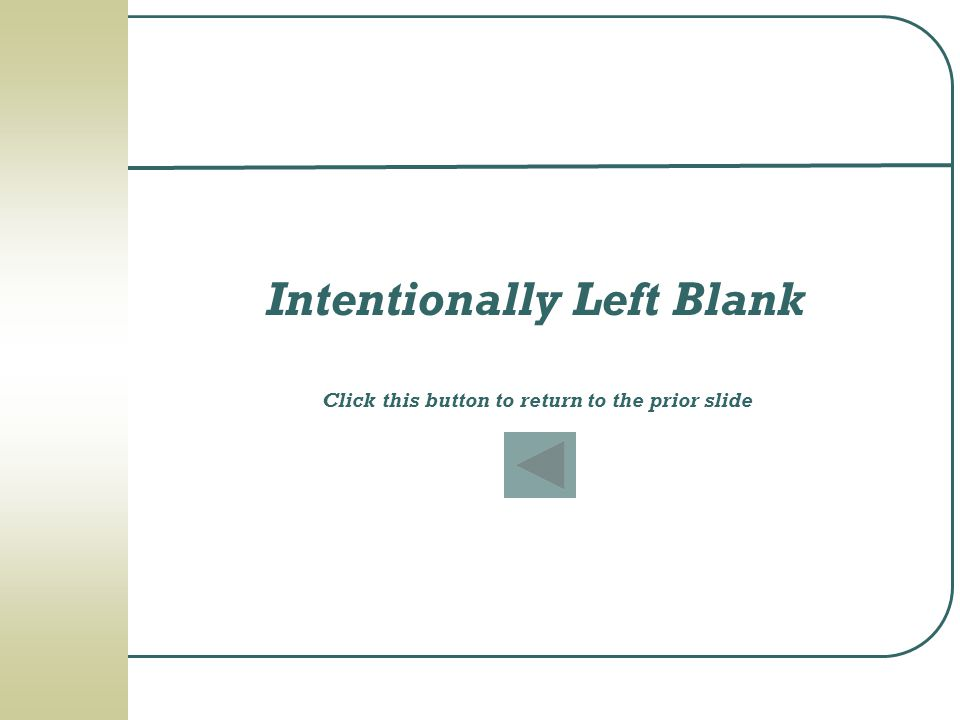 Intentionally Left Blank