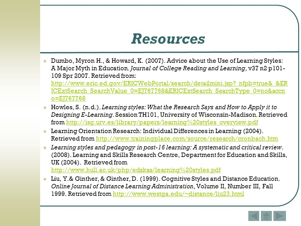 critical review of learning style Learning style research: a critical review of the literature and implications for nursing education cesarina thompson, ms, rn and eileen crutchlow, edd, rna' much has been written about the implications of learning styles on the teaching/learning process.