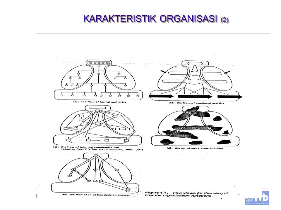 KARAKTERISTIK ORGANISASI (2)