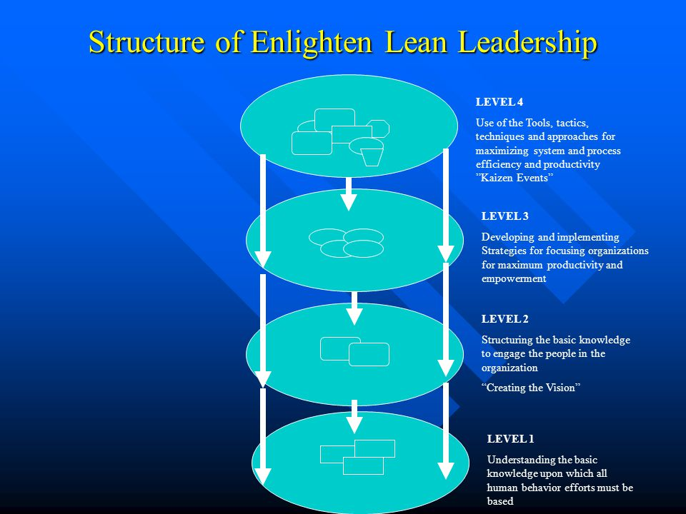 Structure of Enlighten Lean Leadership