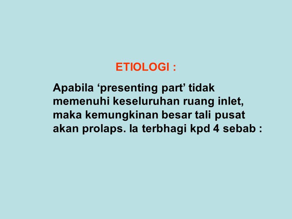 ETIOLOGI :
