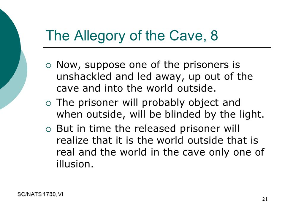 The Allegory of the Cave, 8