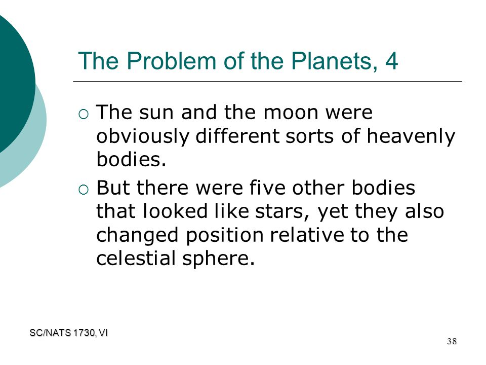 The Problem of the Planets, 4