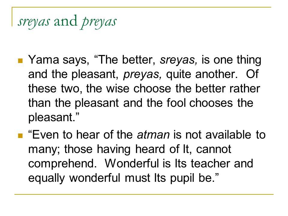 sreyas and preyas