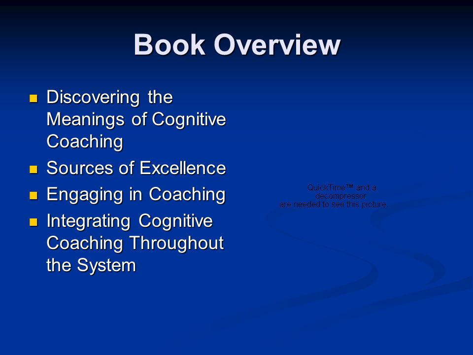 Book Overview Discovering the Meanings of Cognitive Coaching