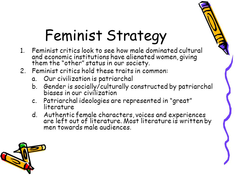 Feminist Strategy