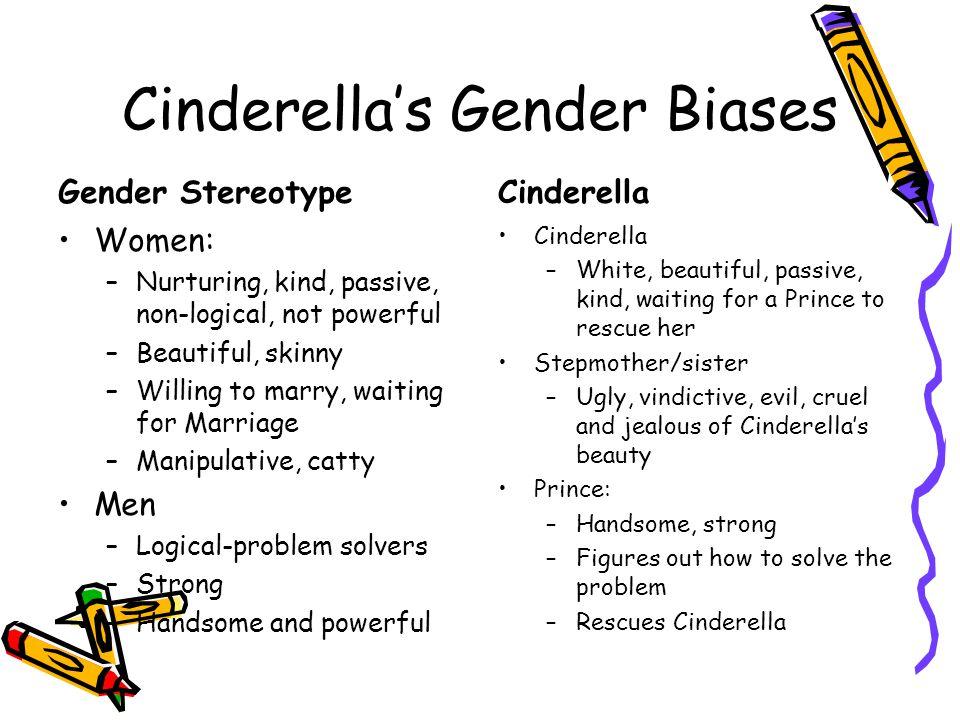 Cinderella's Gender Biases