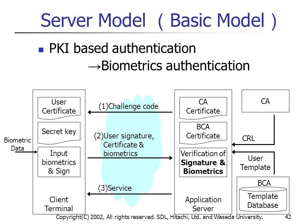 Server Model (Basic Model)