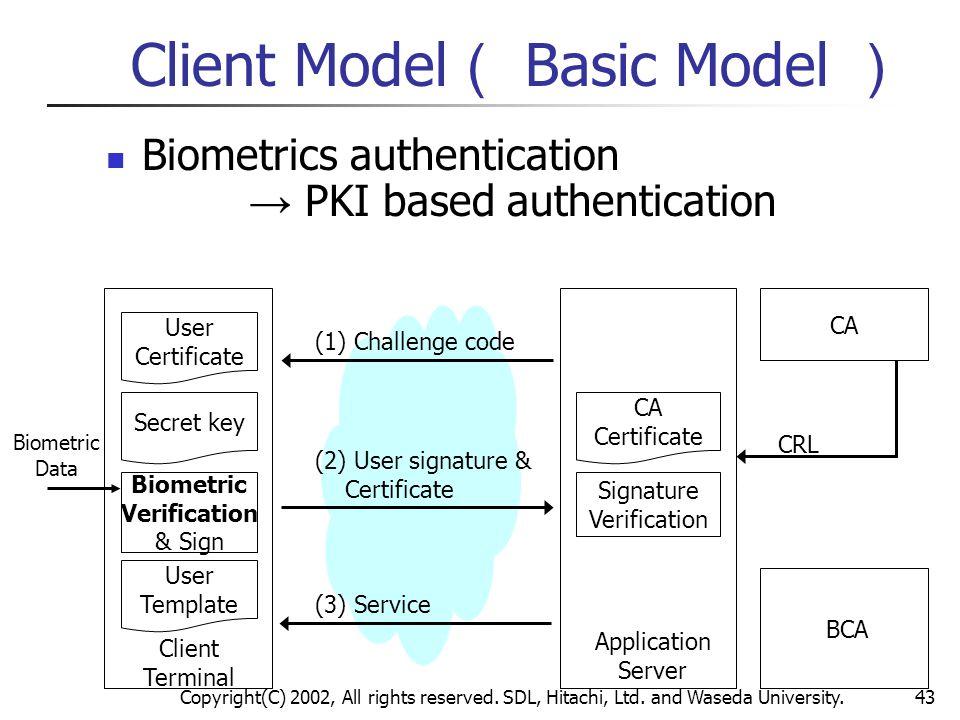 Client Model( Basic Model )