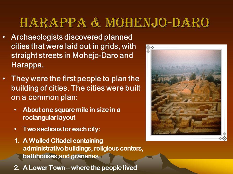 Harappa & Mohenjo-Daro