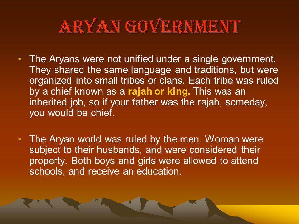 Aryan Government