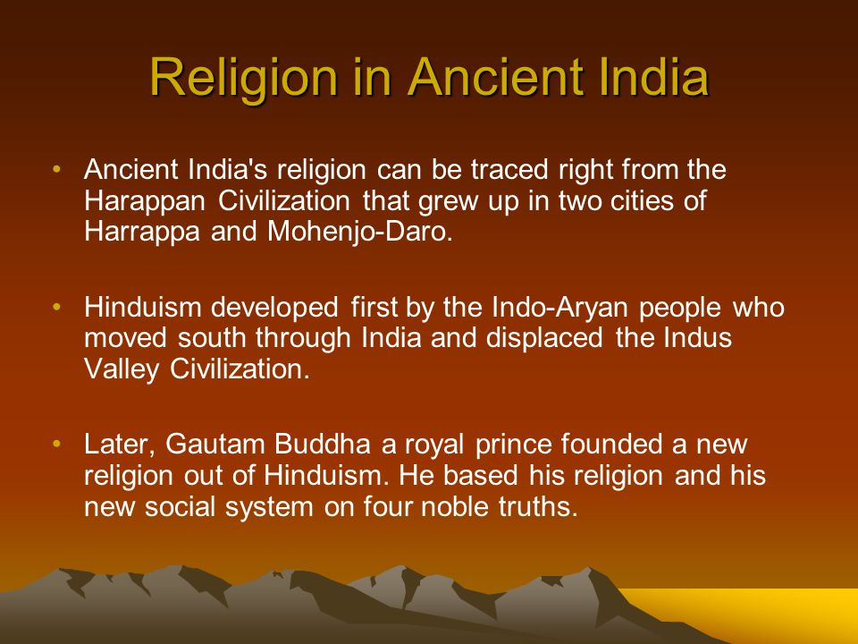Religion in Ancient India
