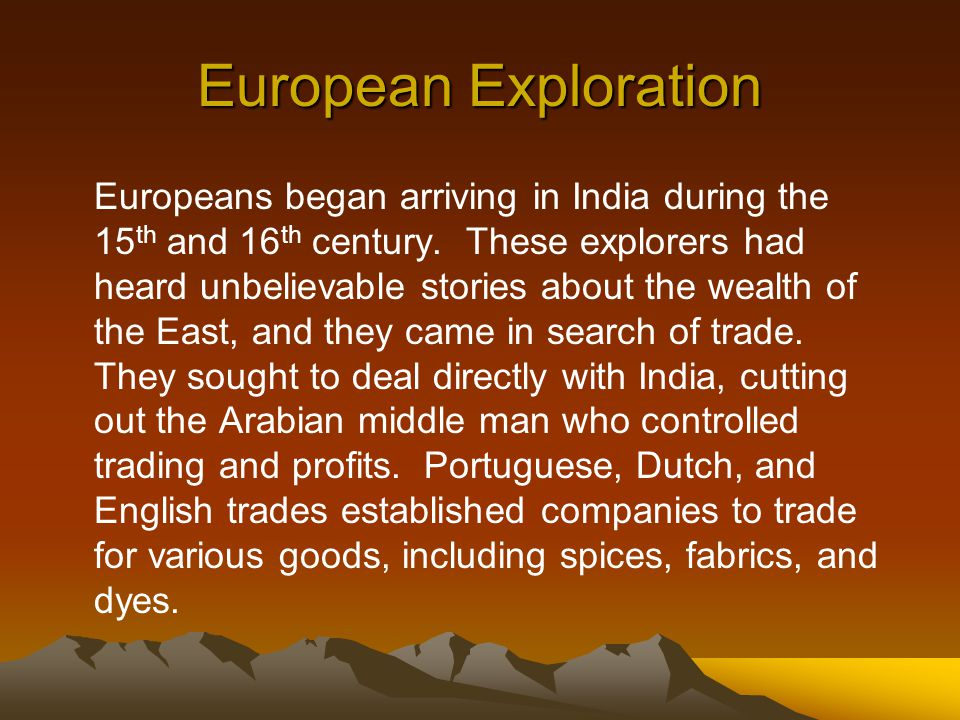 the factors that contributed to the european expansion in the 15th and 16th century The age of discovery, or the age of exploration is an informal and loosely  defined term for the period in european history in which extensive overseas  exploration emerged as a powerful factor in european culture and  european  overseas exploration led to the rise of global trade and the european colonial  empires, with.