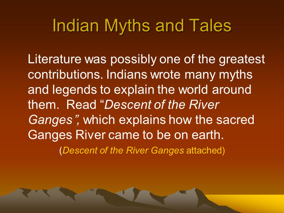 (Descent of the River Ganges attached)
