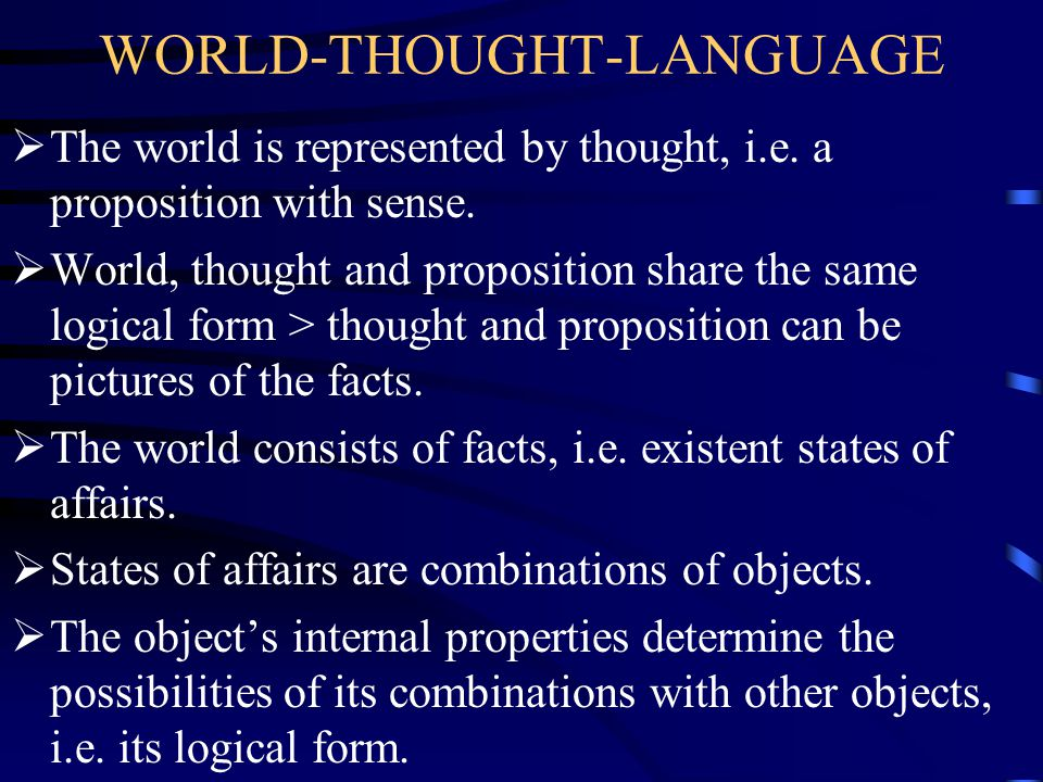 WORLD-THOUGHT-LANGUAGE