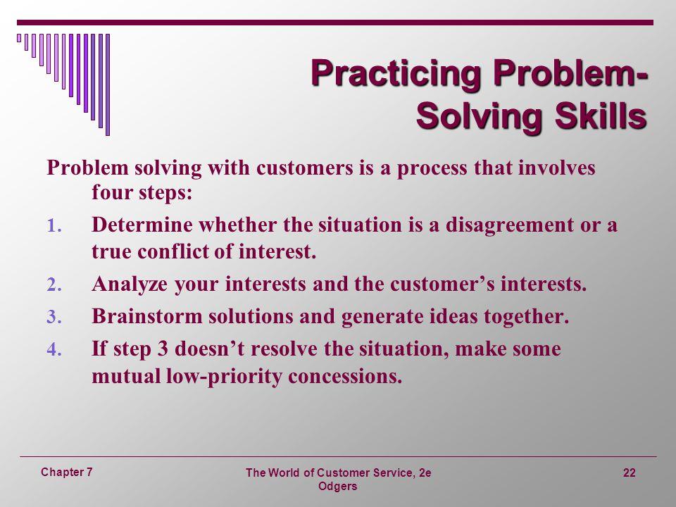 Practicing Problem- Solving Skills