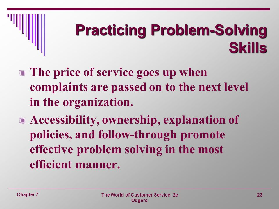 Practicing Problem-Solving Skills