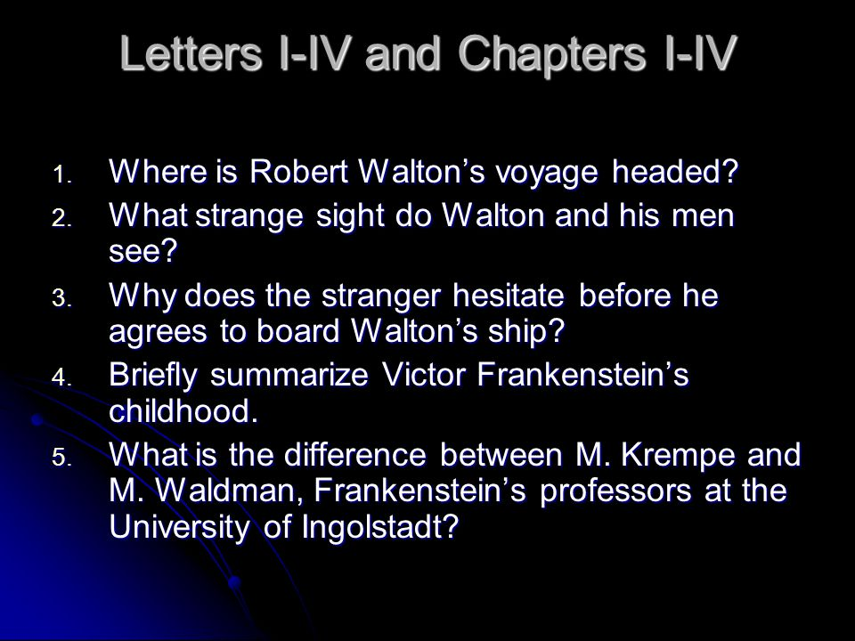 similarities between victor and his monster Similarities of victor frankenstein and his creation 737 words | 3 pages there are evident similarities between victor frankenstein and his creation.