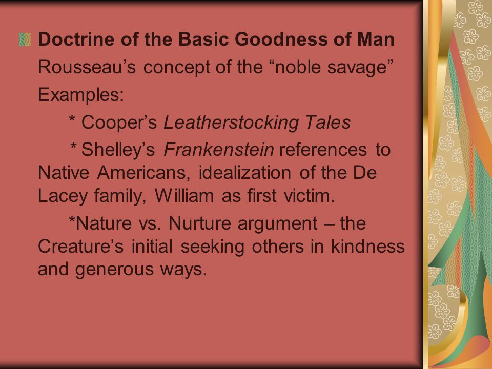 Doctrine of the Basic Goodness of Man