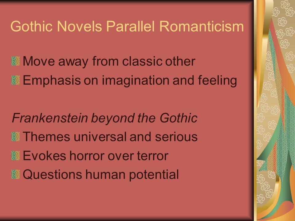 Gothic Novels Parallel Romanticism