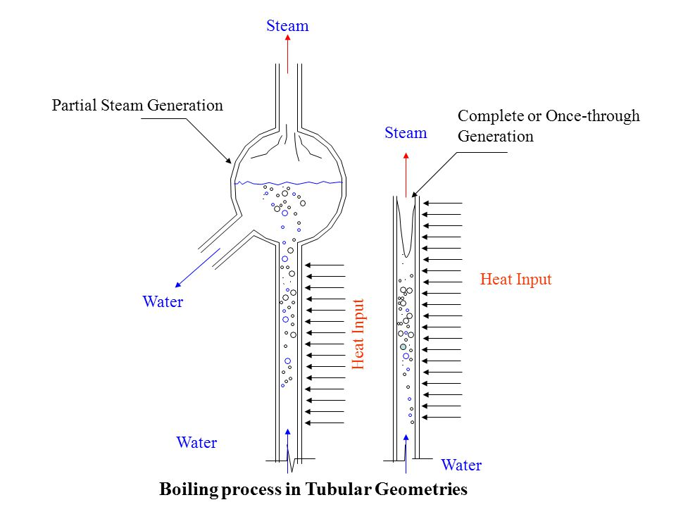 Boiling process in Tubular Geometries
