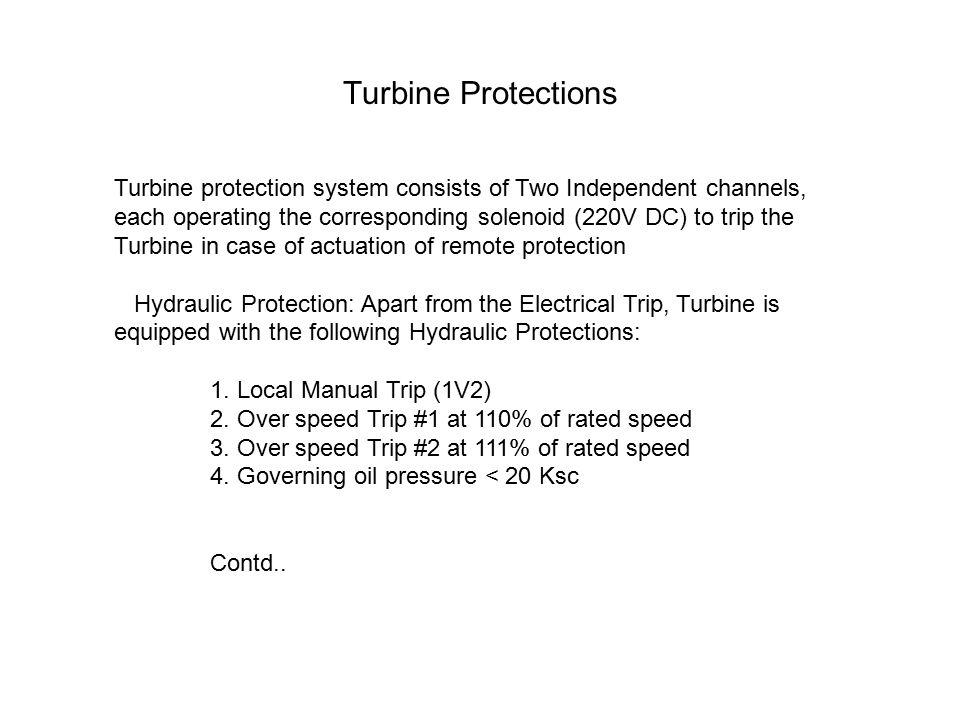 Turbine Protections