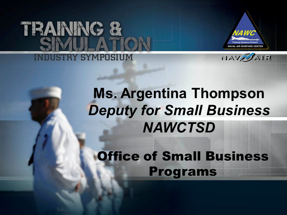 Deputy for Small Business Office of Small Business Programs