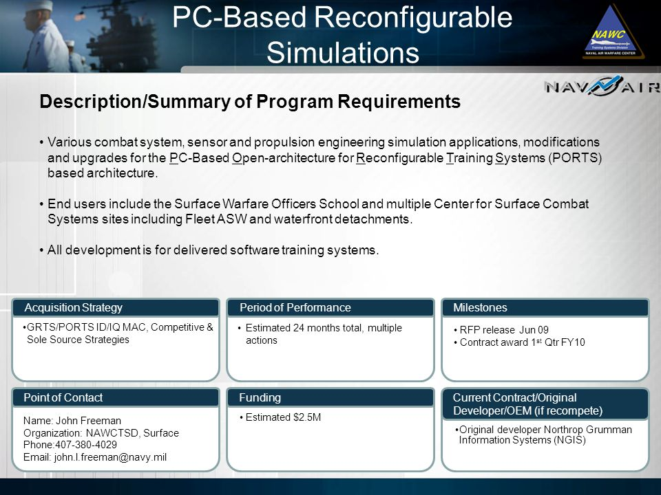 PC-Based Reconfigurable Simulations