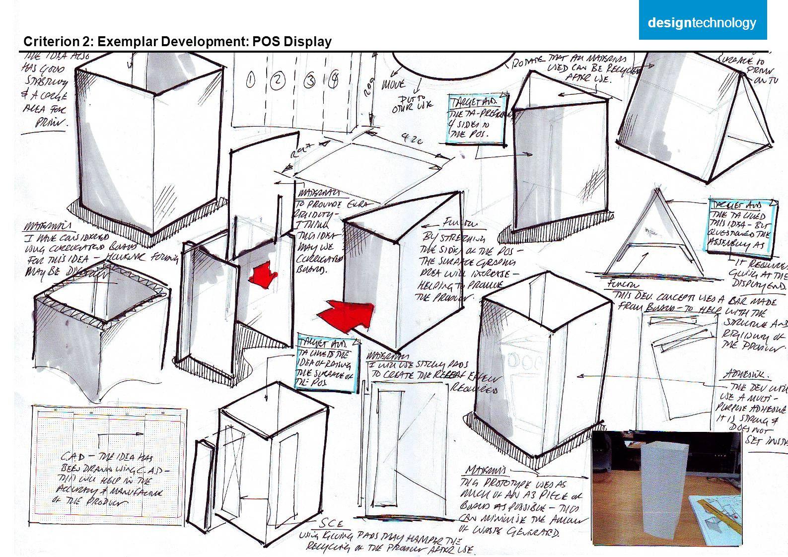 designtechnology designtechnology Criterion 2: Exemplar Development: POS Display