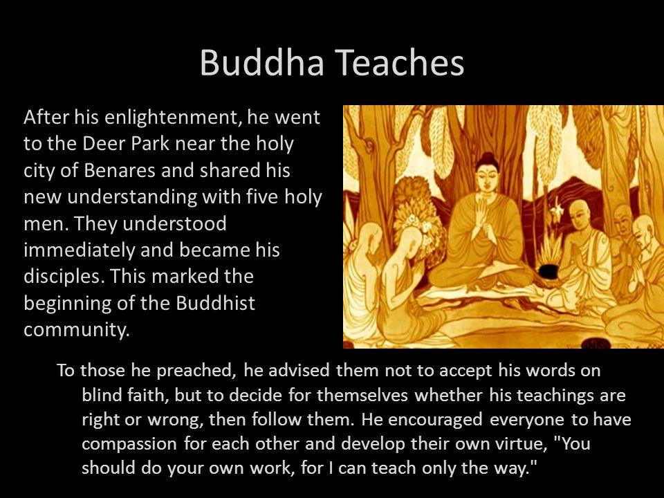 Buddha Teaches