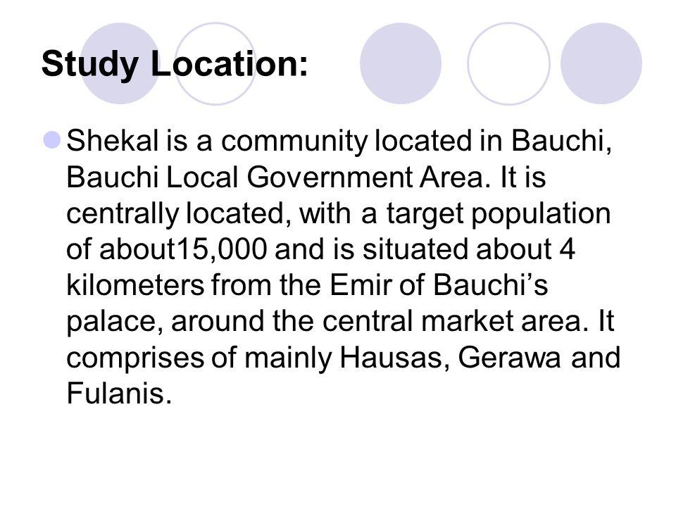 Study Location: