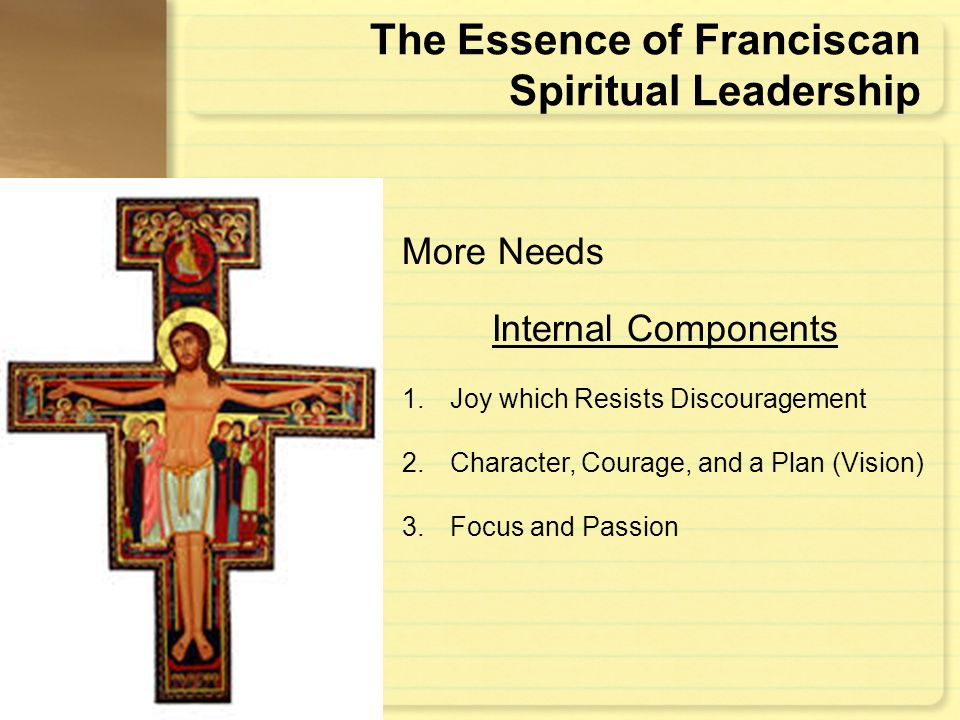 The Essence of Franciscan Spiritual Leadership