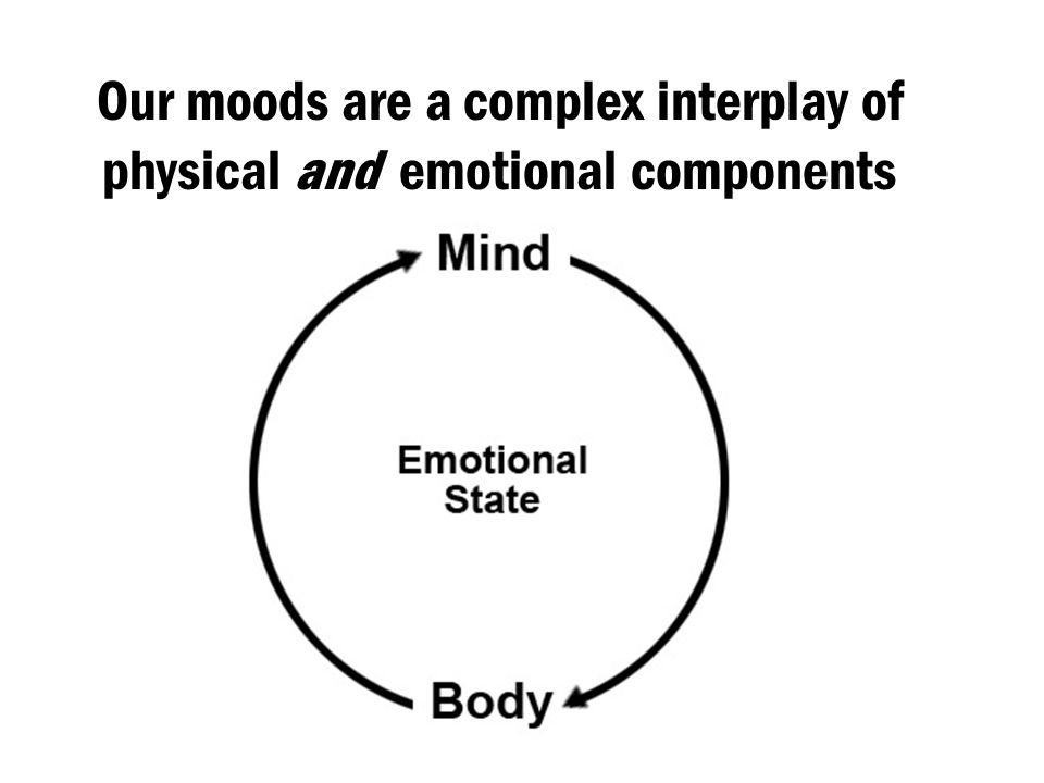 Our moods are a complex interplay of physical and emotional components