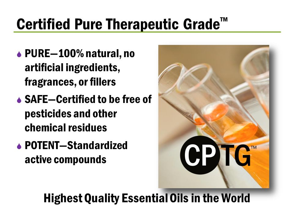 Highest Quality Essential Oils in the World